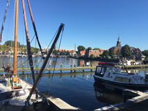 Hafen in Blokzijl Lizenzfreie Stockfotografie