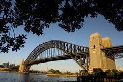 Hafen-Brücke Stockfoto
