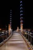 Hafen-Brücke Lizenzfreies Stockfoto