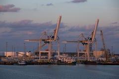 Hafen Canaveral-Docks, Florida, USA Lizenzfreies Stockfoto