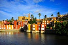Hafen Chambly, Mauritius Lizenzfreie Stockfotos