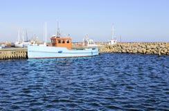 Hafen in Dänemark Stockfotografie
