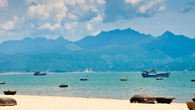Hafen DA-Nang, Vietnam Lizenzfreie Stockfotos