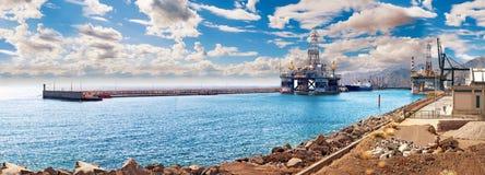 Hafen der Insel von Teneriffa Kanarische Inseln spanien Lizenzfreies Stockbild