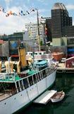 Hafen in der Stadt Lizenzfreies Stockfoto