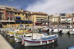 Hafen des Cassis, französisches Riviera, stockbilder