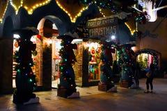 Hafen des Eintritts, Universal Studios, Orlando, FL Lizenzfreies Stockbild