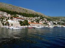 Hafen in Dubrovnik Stockbild
