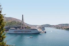 Hafen in Dubrovnik stockfoto
