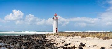Hafen-feenhafter Leuchtturm, große Ozean Straße Griffiths-Insel-, Victoria, Australien lizenzfreie stockfotografie