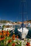 Hafen in Frankreich Lizenzfreie Stockfotos