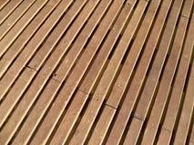 Hafen gemacht vom Holz Stockfoto