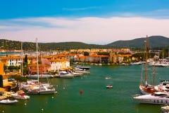 Hafen Grimaud, Frankreich Stockfotos