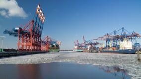 Hafen in Hamburg Lizenzfreie Stockbilder