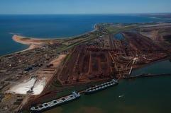 Hafen Hedland - Australien Lizenzfreie Stockfotos