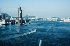Hafen Hongs Kong Victoria Stockfotografie