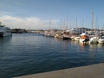 Hafen ibiza lizenzfreie stockbilder