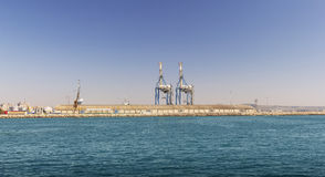 Hafen-Jachthafen Zypern, Larnaka lizenzfreie stockfotografie