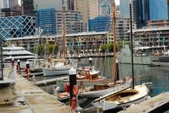 Hafen Jackson Harbour Sydney Australia lizenzfreie stockfotografie