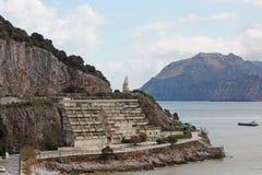 Hafen-Jungfrau in Spanien Stockbild