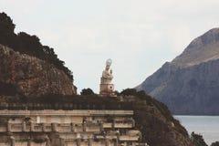 Hafen-Jungfrau in Spanien Stockfoto
