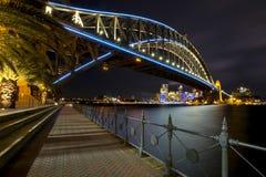 Hafen-Lichter Stockbild