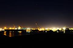 Hafen-Lichter Lizenzfreie Stockfotografie