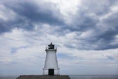 Hafen Maitland Lighthouse Stockfotos