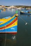 Hafen in Malta Lizenzfreie Stockbilder