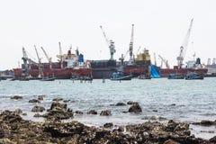 Hafen-Marinesoldat Stockfoto
