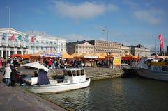 Hafen-Markt Helsinki Lizenzfreie Stockbilder