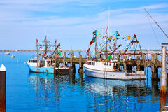 Hafen Massachusetts US Cape Cods Provincetown Stockbilder