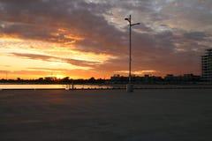 Hafen Melbourne stockfoto