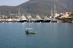 Hafen in Montenegro Stockfoto