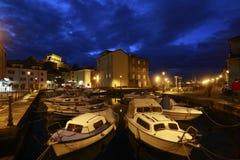 Hafen in Muggia Lizenzfreie Stockbilder