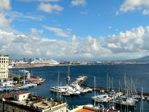 Hafen Neapel Stockfotografie