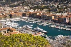 Hafen in Nizza Frankreich Lizenzfreie Stockfotografie