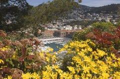 Hafen in Nizza Frankreich stockfotos
