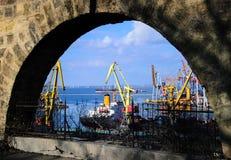 Hafen Odessa Lizenzfreies Stockbild