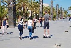 Hafen Olimpic, Barcelona lizenzfreies stockbild