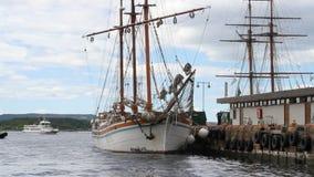Hafen Oslo, Norwegen stock video