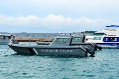 Hafen-Patrouillenboot Stockbilder