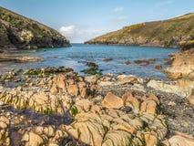 Hafen Quin, Cornwall, England Lizenzfreie Stockfotos