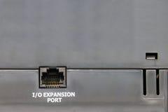 Hafen RJ-45 Stockfoto