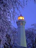 Hafen Sanilac-Leuchtturm Stockfotografie
