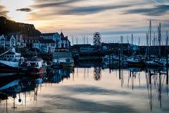 Hafen Scarboroughs Großbritannien Lizenzfreie Stockfotografie