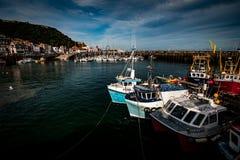 Hafen Scarboroughs Großbritannien Lizenzfreie Stockbilder