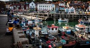 Hafen Scarboroughs Großbritannien Stockfoto