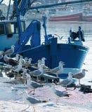 Hafen scenne Lizenzfreie Stockfotografie