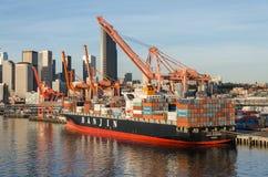 Hafen in Seattle Lizenzfreies Stockbild